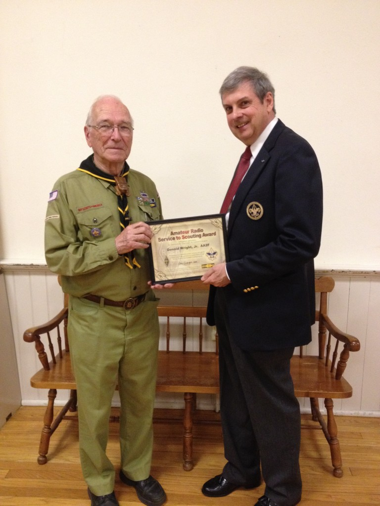 AA2F Service to Scouting Award